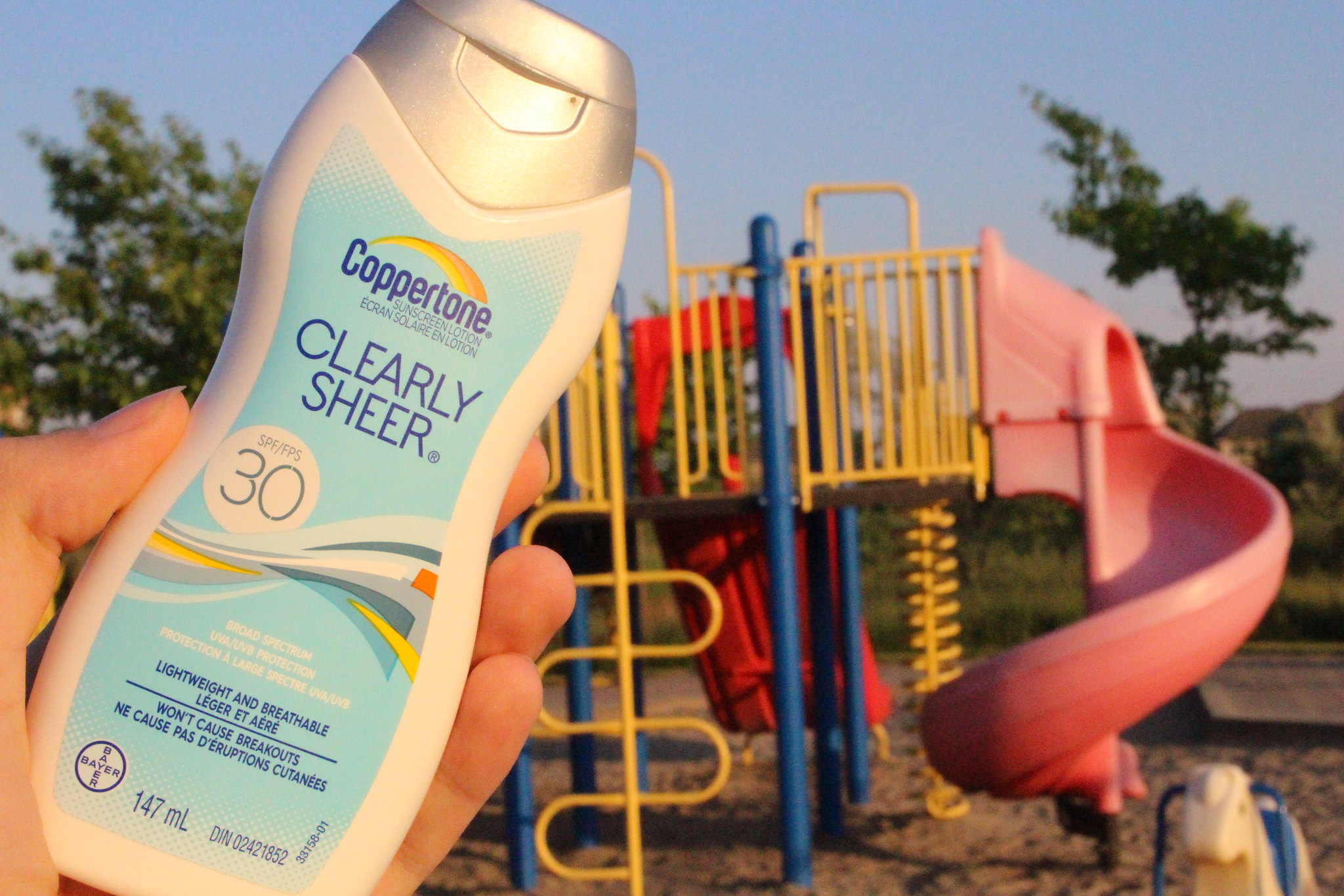 Coppertone ClearlySheer Body Lotion