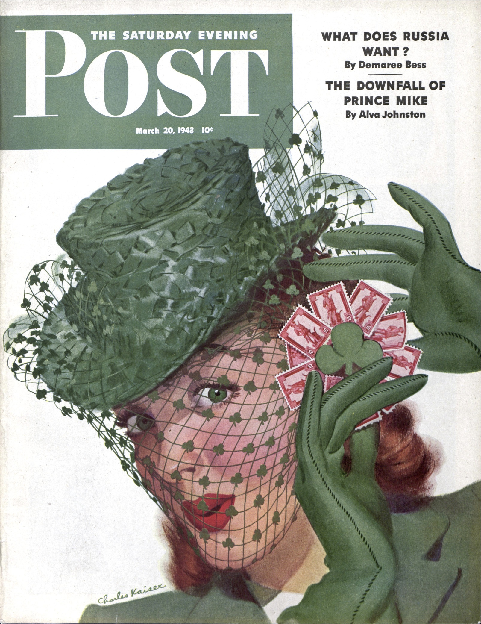The Saturday Evening Post - published March 20, 1943