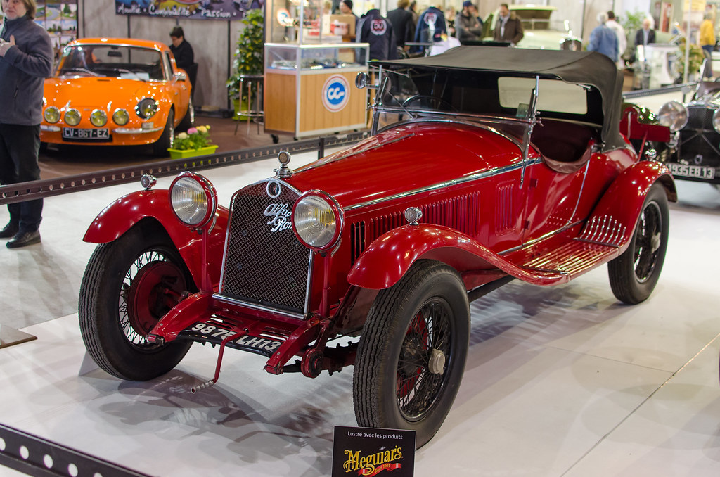 Alfa Romeo 6c 1750 Super Sport Spider Zagato 1930