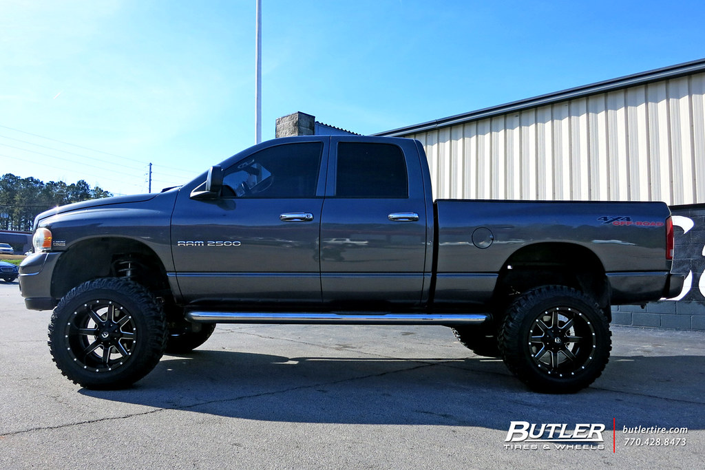 Ram 2500 Fuel Maverick >> Dodge Ram with 20in Fuel Maverick Wheels | Additional Pictur… | Flickr