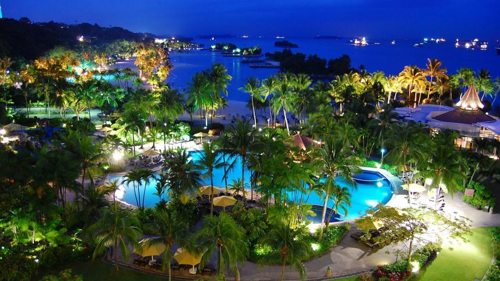 Sentosa Island | Things to Do in Singapore at Night ... Sentosa Island At Night
