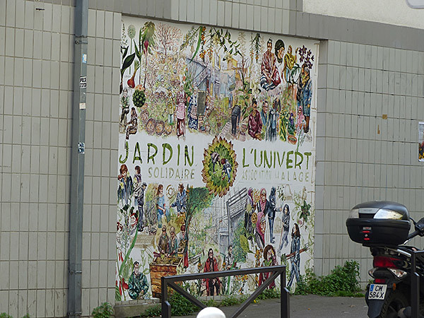 jardin l'univert