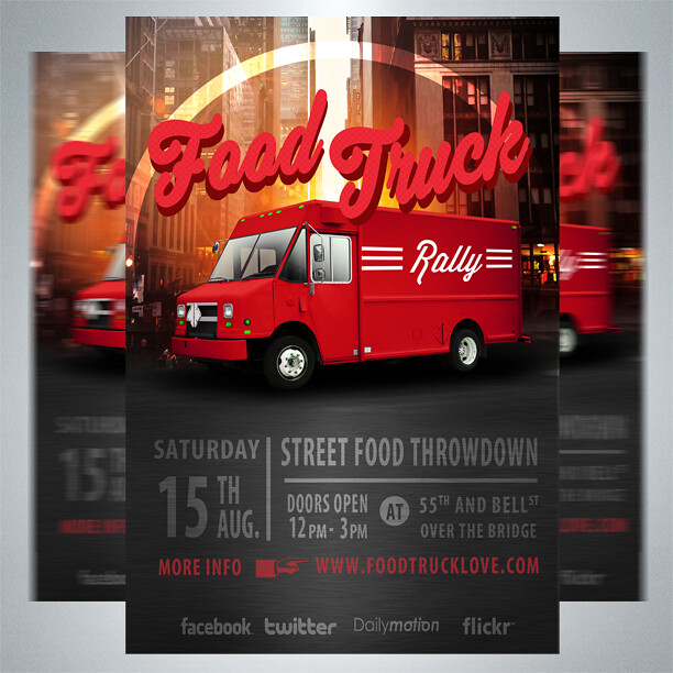 free food truck flyer 100 free flyer for any food truck u flickr. Black Bedroom Furniture Sets. Home Design Ideas