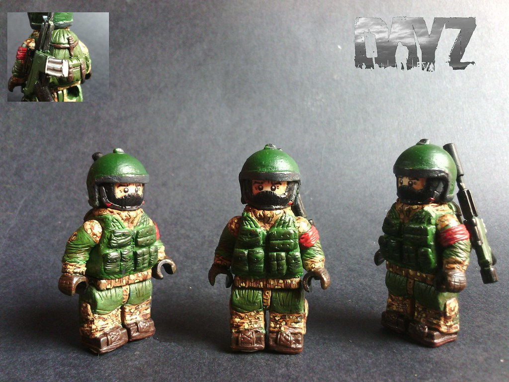 Lego Custom Dayz Survivor W Gorka Military Uniform Flickr