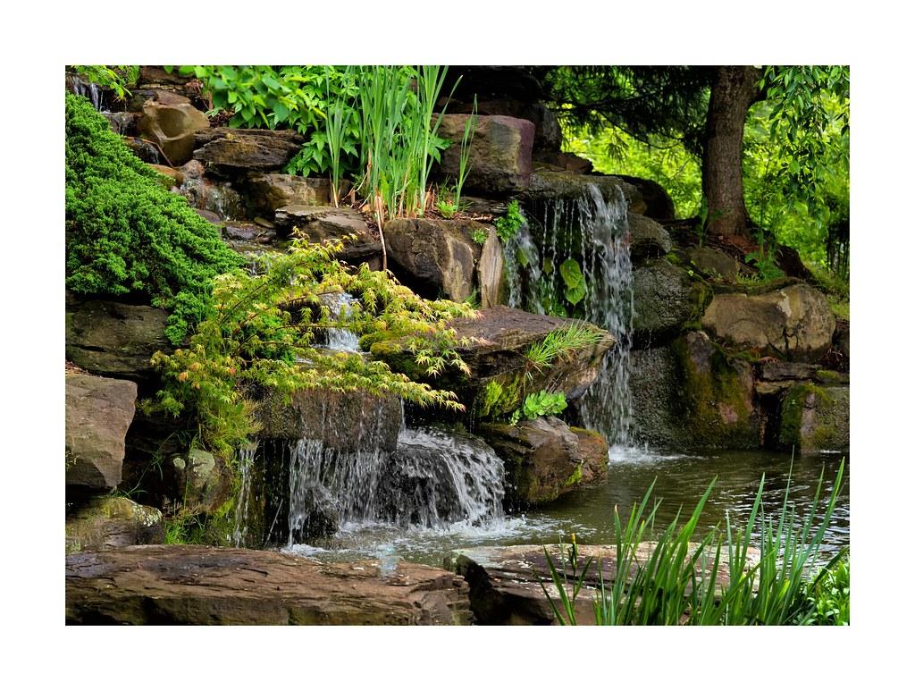 Waterfall at the merrifield garden center fairfax va - Merrifield garden center fairfax va ...