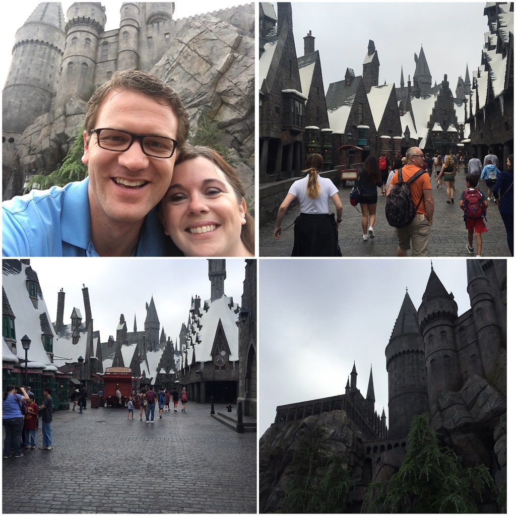 Harry Potter land at Universal Studios