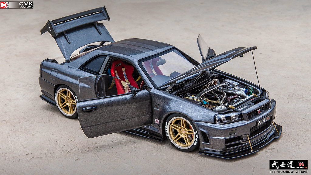 R34 Bushid? Z Tune Custom Dx Modelwerks Showcase