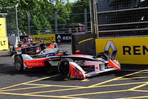 Bruno Senna, Mahindra Racing Formula E Team, FIA Formula E Championship, London 2016