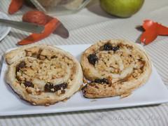 Caracolas de hojaldre con manzanas 3
