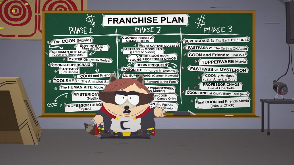 South Park: The Fractured But Whole, PS4
