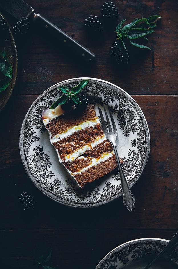 Saveur Carrot Cake