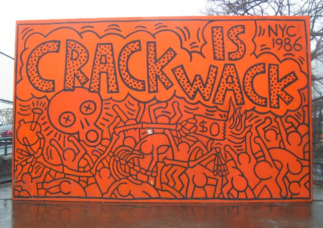 Crack is wack mural dadadreams flickr for Crack is wack mural
