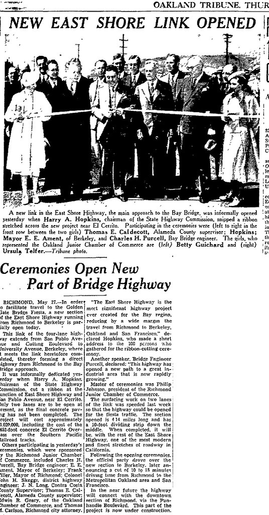 eastshore dedication 05 26 1937