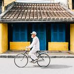 Biking through Hoi An