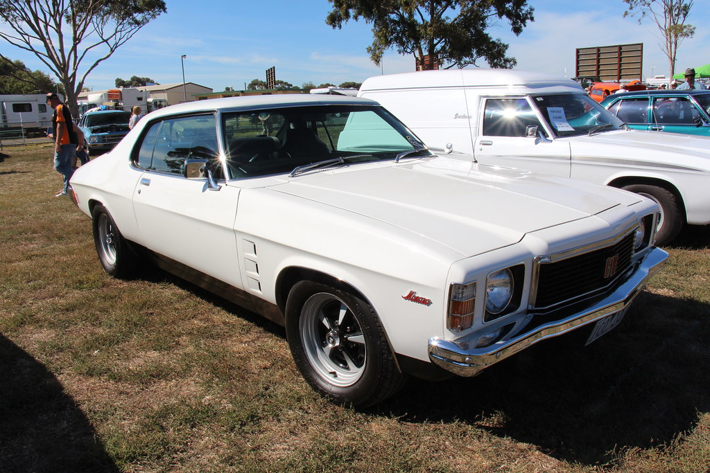 1975 Holden Hj Monaro Coupe Cotillion White The Hj