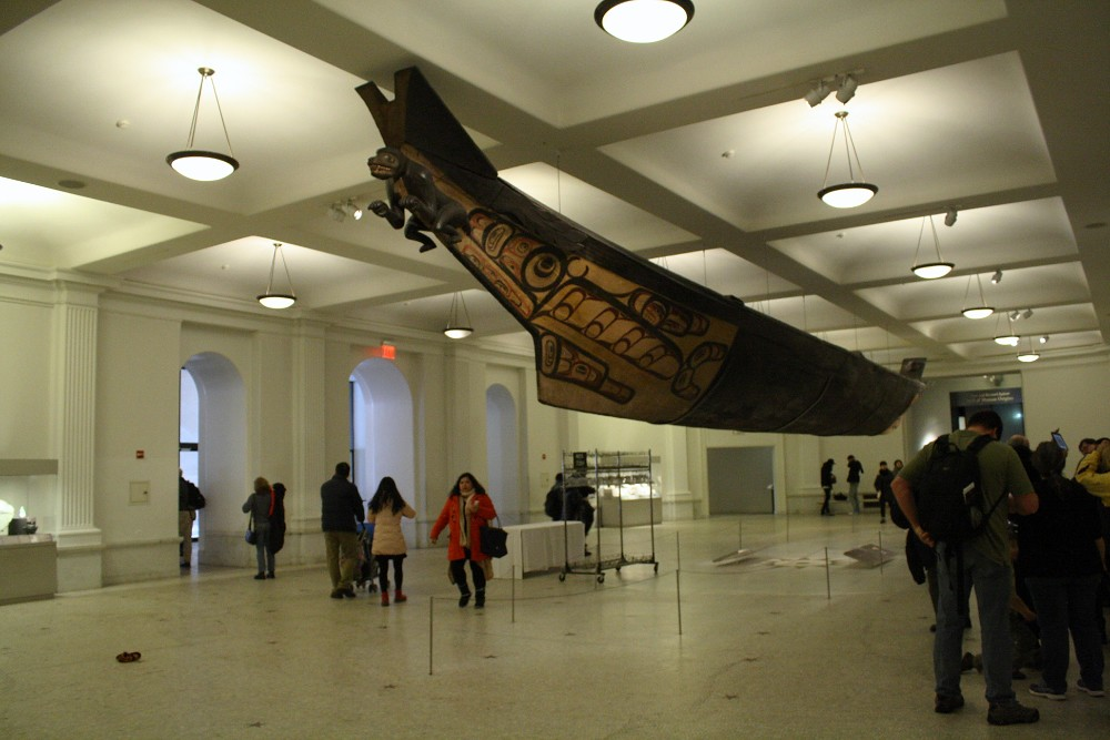 The American Museum of Natural History Canoe
