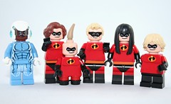 Lego The Incredibles by XxDeadmanzZ
