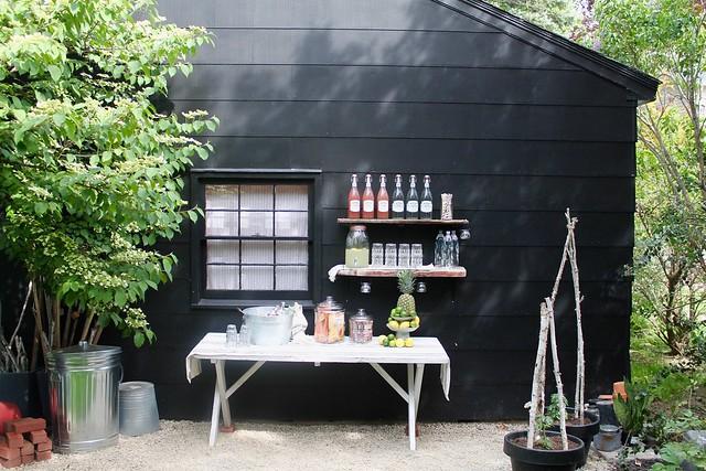 Backyard Party Drink Station