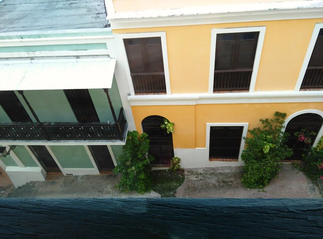 view from hotel old san juan