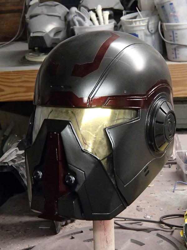 Shae Helmet Painted