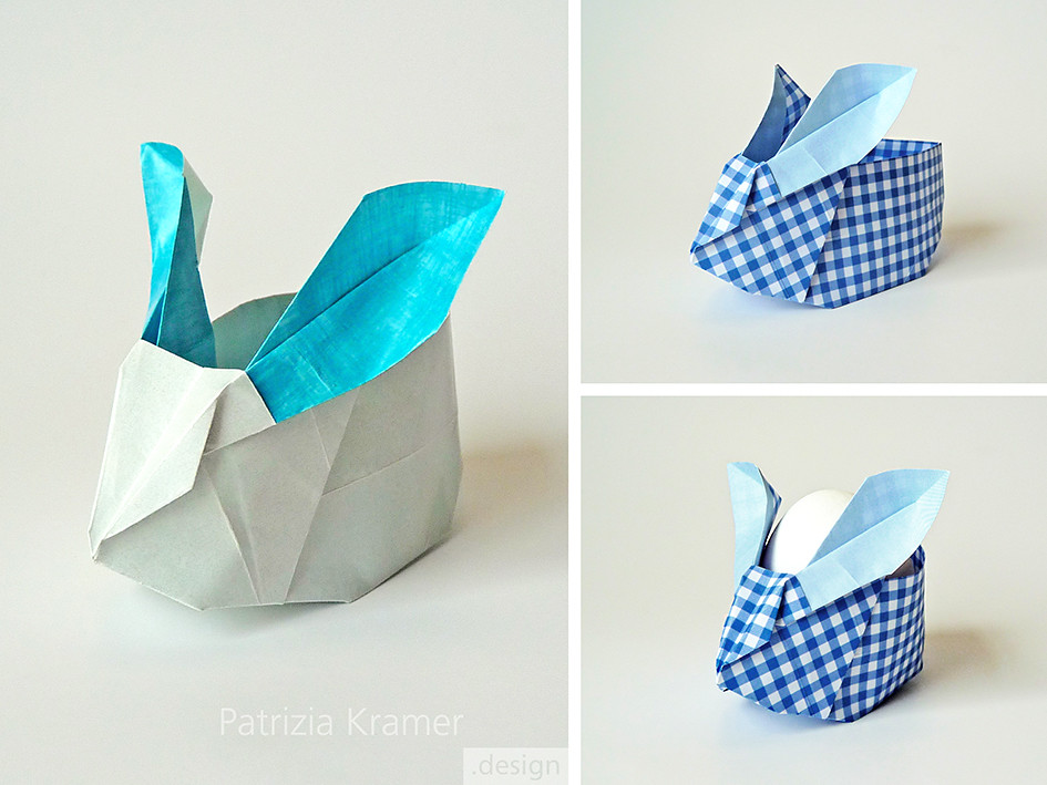 origami osterhase easter bunny tutorial p flickr. Black Bedroom Furniture Sets. Home Design Ideas