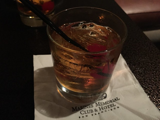 Manhattan cocktail - Leatherneck Steakhouse