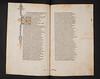 Decorated initial and Arabic annotation in Vergilius Maro, Publius: Opera