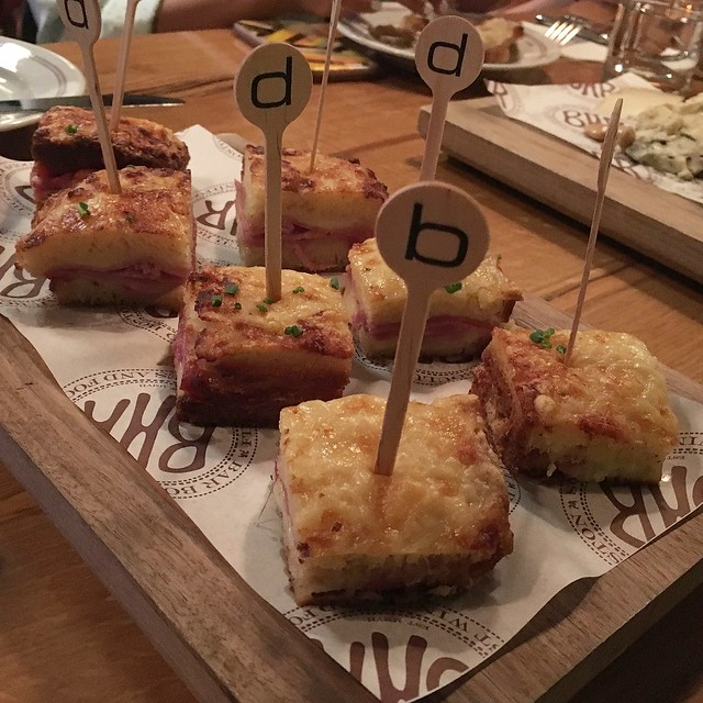 Petite Croque Monsieur from Bar Boulud