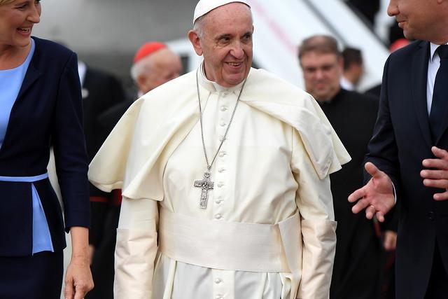 Papież Franciszek w Polsce, 27 VII 2016