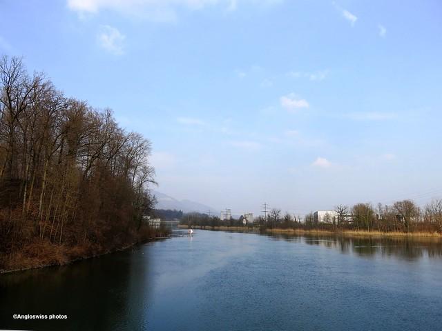 River Aar Attisholz