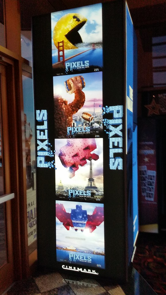 Pixels Movie Standee | Flickr - Photo Sharing!