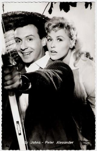 Peter Alexander and Bibi Johns in Wehe, wenn sie losgelassen (1958)
