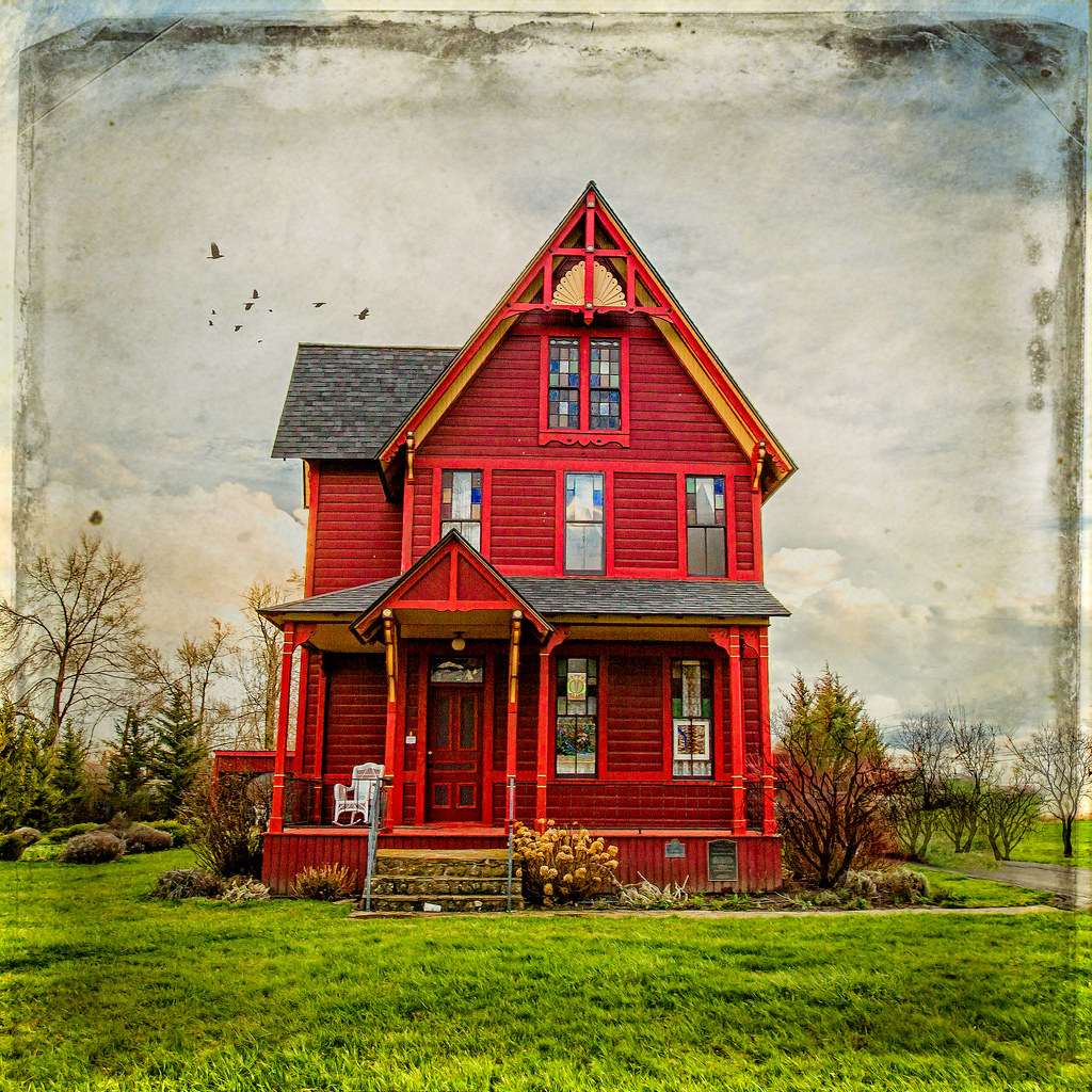 The Red House Built In 1890 This Home In Goldendale Wa