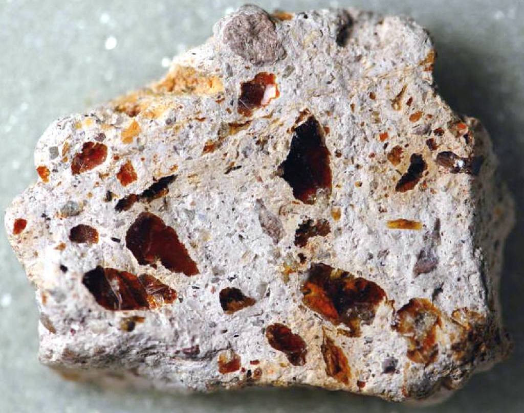 Volcanic breccia with jelly opal (Cenozoic; Mexico) | Flickr