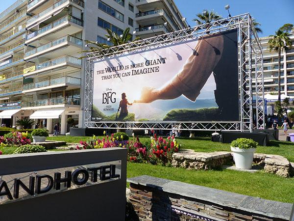 the BFG au grand hôtel