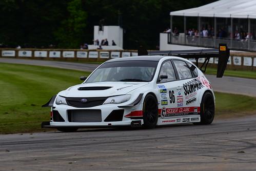 Olly Clark, Subaru Impreza