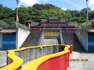 林班地超限利用的寺廟。圖片來源:新竹林區管理處