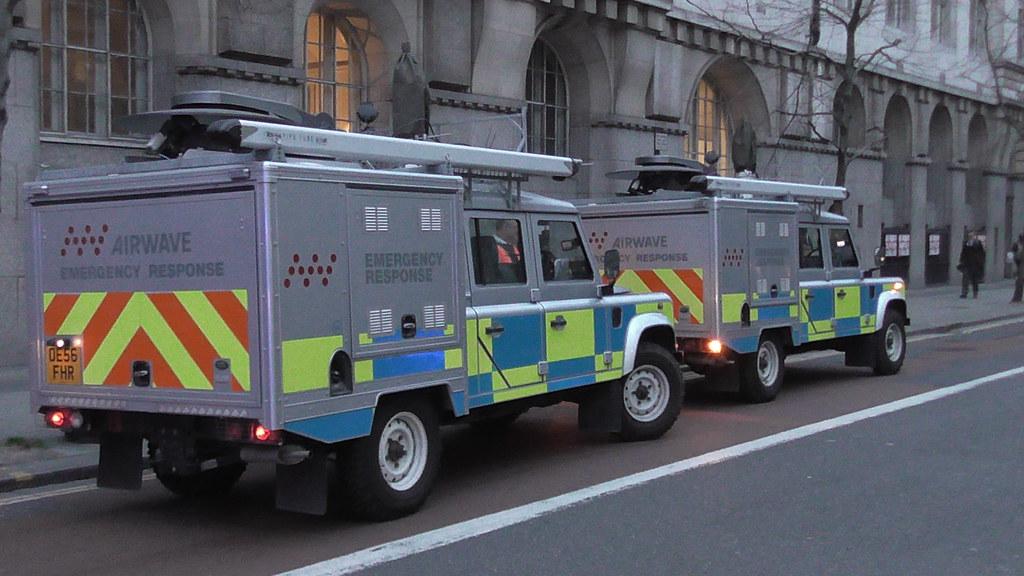 Airwave Emergency Response Land Rover Defender