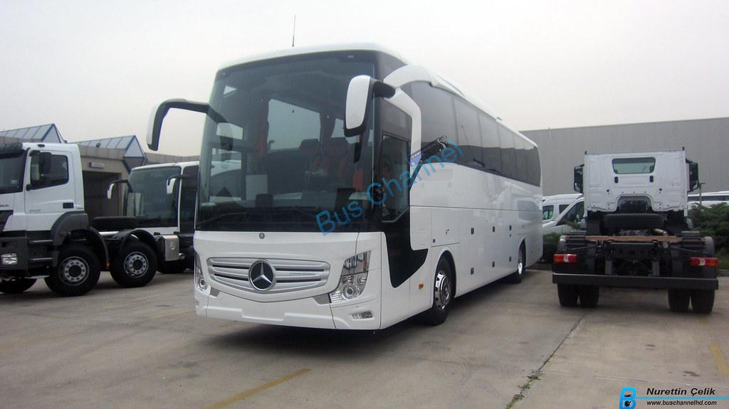 Mercedes Benz Travego 2016 Hoşderede Yeni Firmasını Bekliy ...