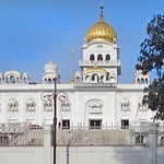Le Gurdwara Bangla Sahib, sanctuaire sikh (New Delhi, Inde)