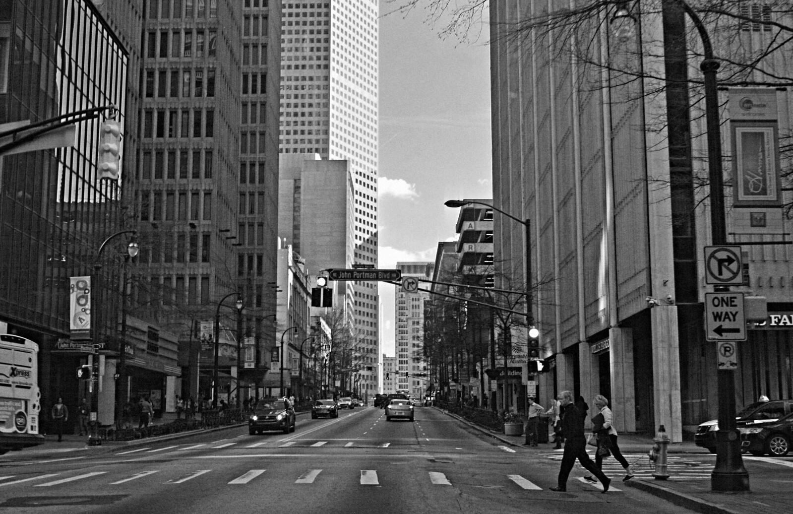 John Portman Blvd, Atlanta, 2015