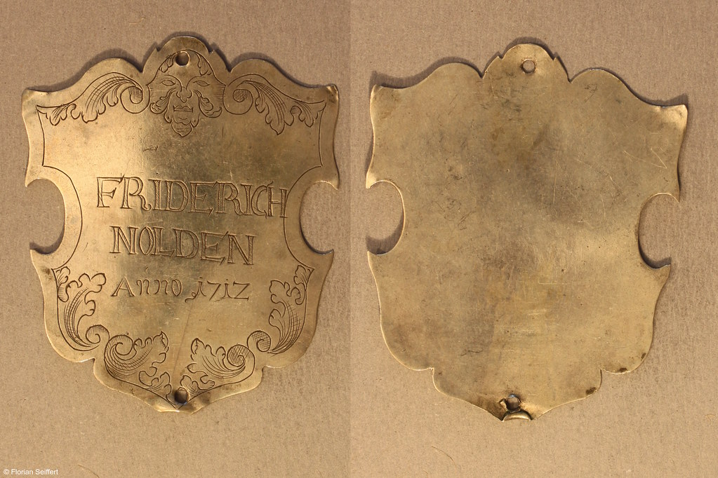 Koenigsschild Flittard von nolden friderich aus dem Jahr 1717