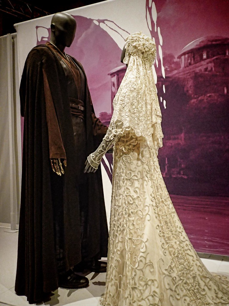 Wedding Ensemble Of Anakin Skywalker And Padme Amidala At