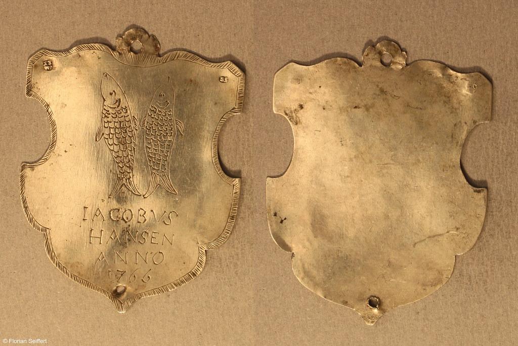 Koenigsschild Flittard von hansen iacobvs aus dem Jahr 1766