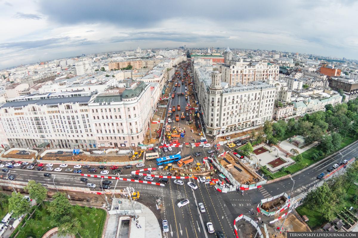 Пушкинская-площадь,-пересечение-Тверской-улицы-и-Бульварного-кольца-mini