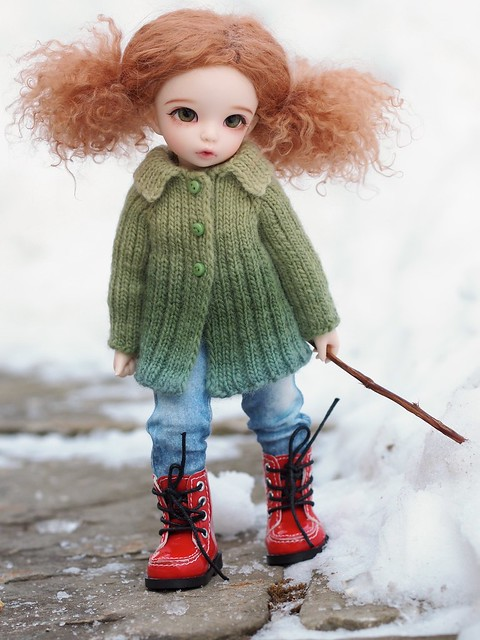 Queen Street Jacket - Knitting Pattern for Littlefee