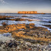 fort Houmet Herbe at sunset on Alderney