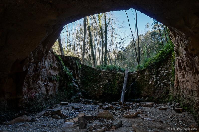 La Foradada, o Boca del Llop, imagen icónica del Torrent de Colobrers