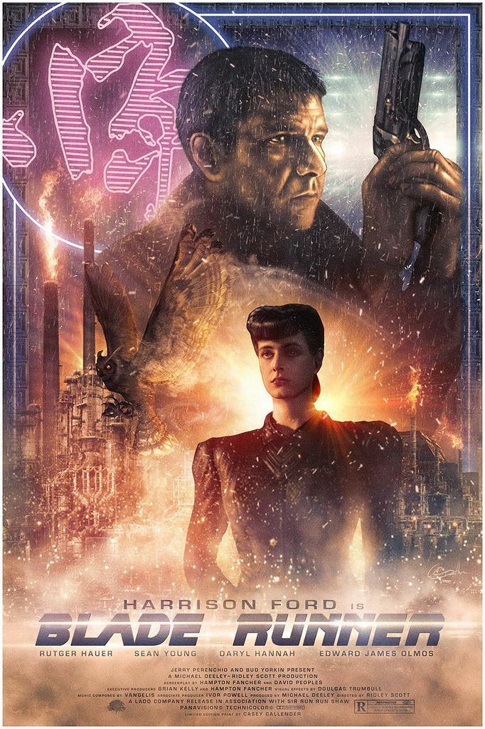 Blade Runner Do You Like Your Owl? by Casey Callender