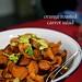 London Food Blog - Startisans, Covent Garden - Tasting Room, orange roasted carrot salad